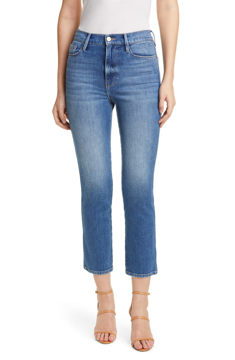 FRAME Le Sylvie Crop Jeans, Main, color, MARLIN