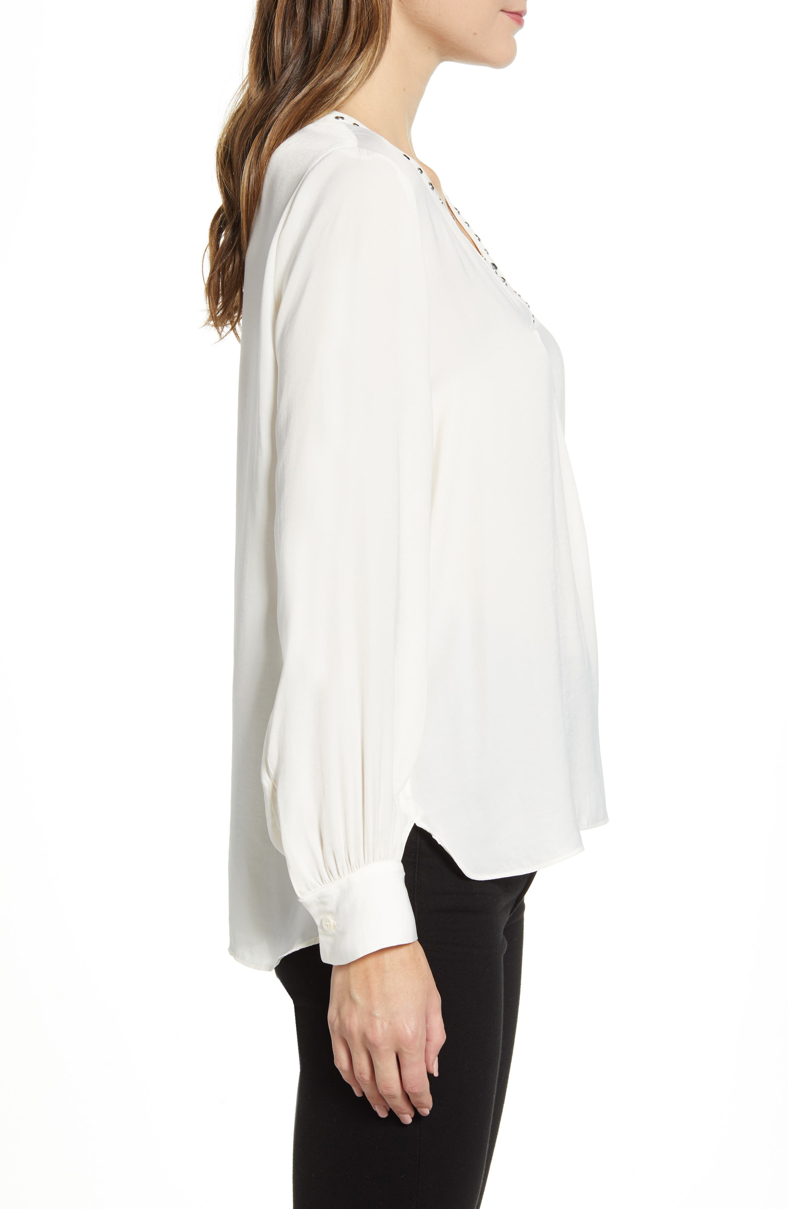 Vince Camuto Tops Studded Rumple Blouse