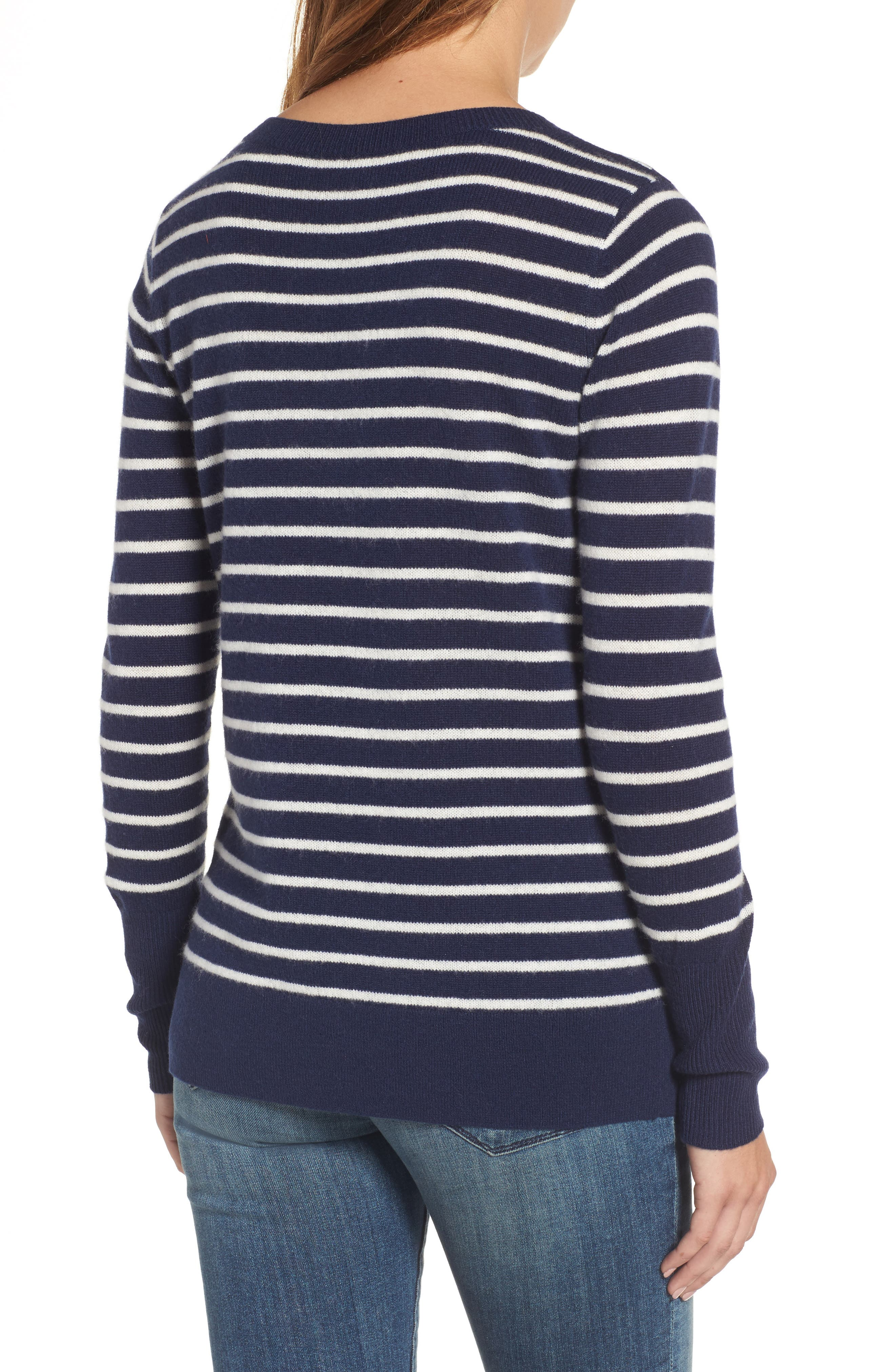 ,                             V-Neck Cashmere Sweater,                             Alternate thumbnail 37, color,                             410