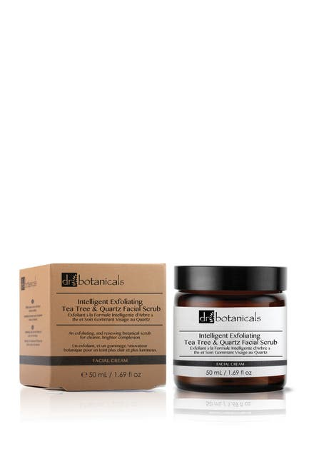 Image of skinChemists Intelligent Exfoliating Tea Tree And Quartz Facial Scrub
