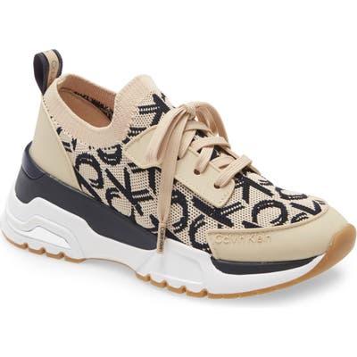 Calvin Klein Hensley Sneaker- Beige