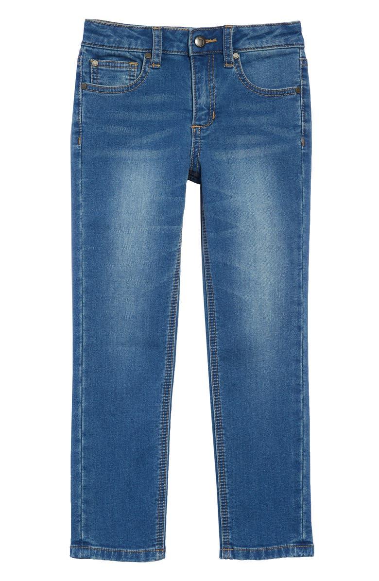 JOE'S Brixton Straight Leg Knit Denim Jeans, Main, color, 465