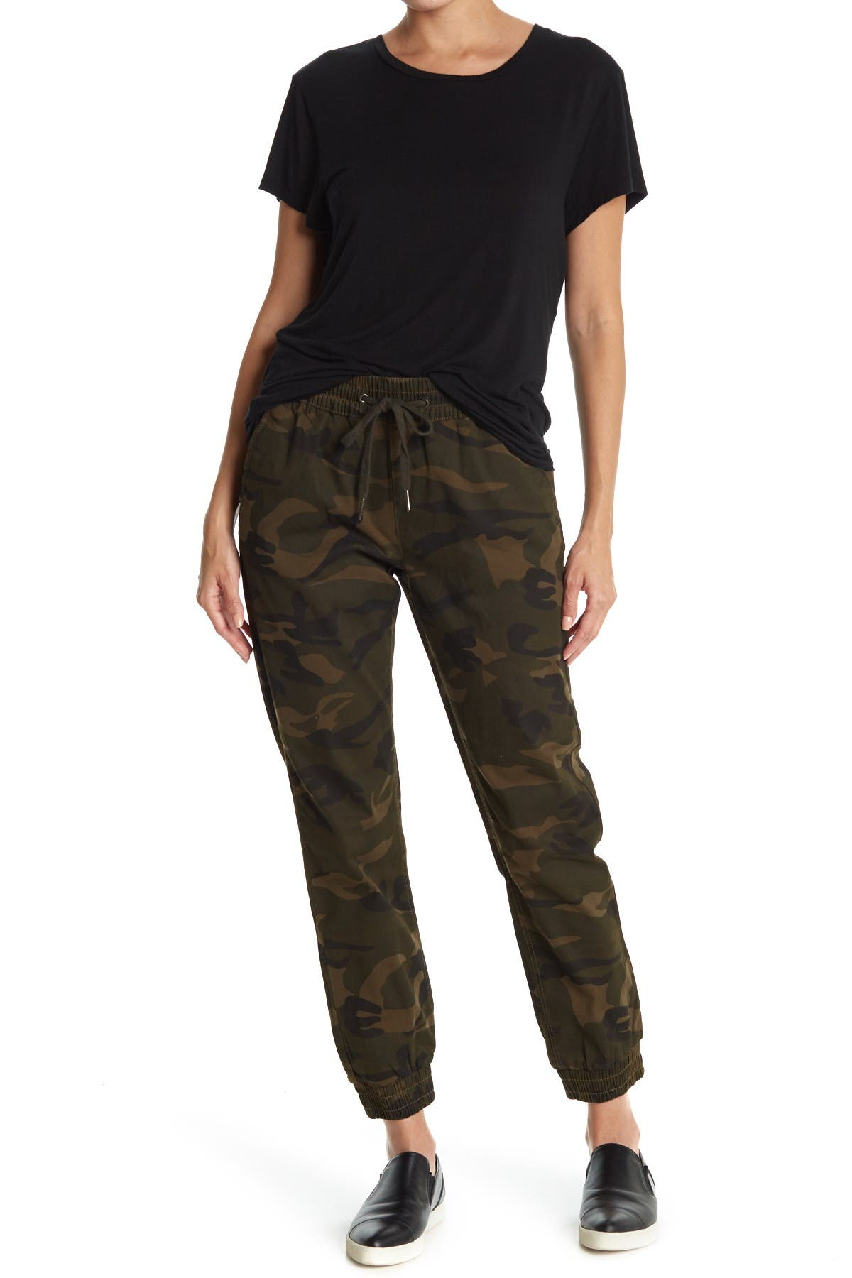 Image of RAG SUPPLY Camo Twill Joggers