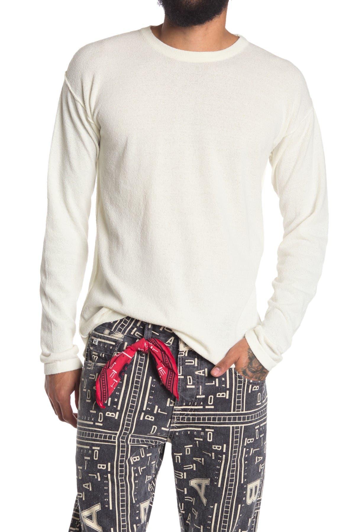 Image of Scotch & Soda Long Sleeve Crew Neck T-Shirt