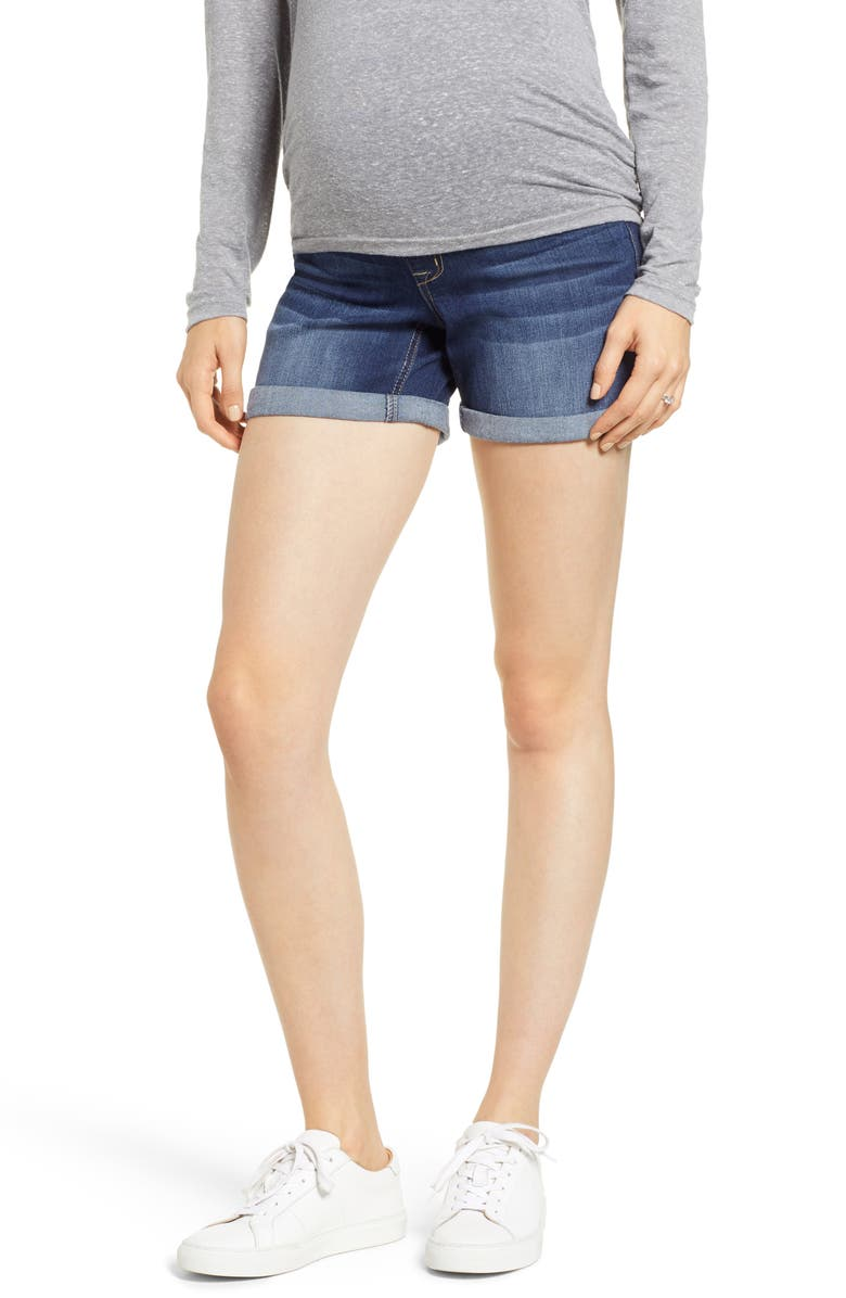 1822 DENIM Maternity Shorts, Main, color, 404