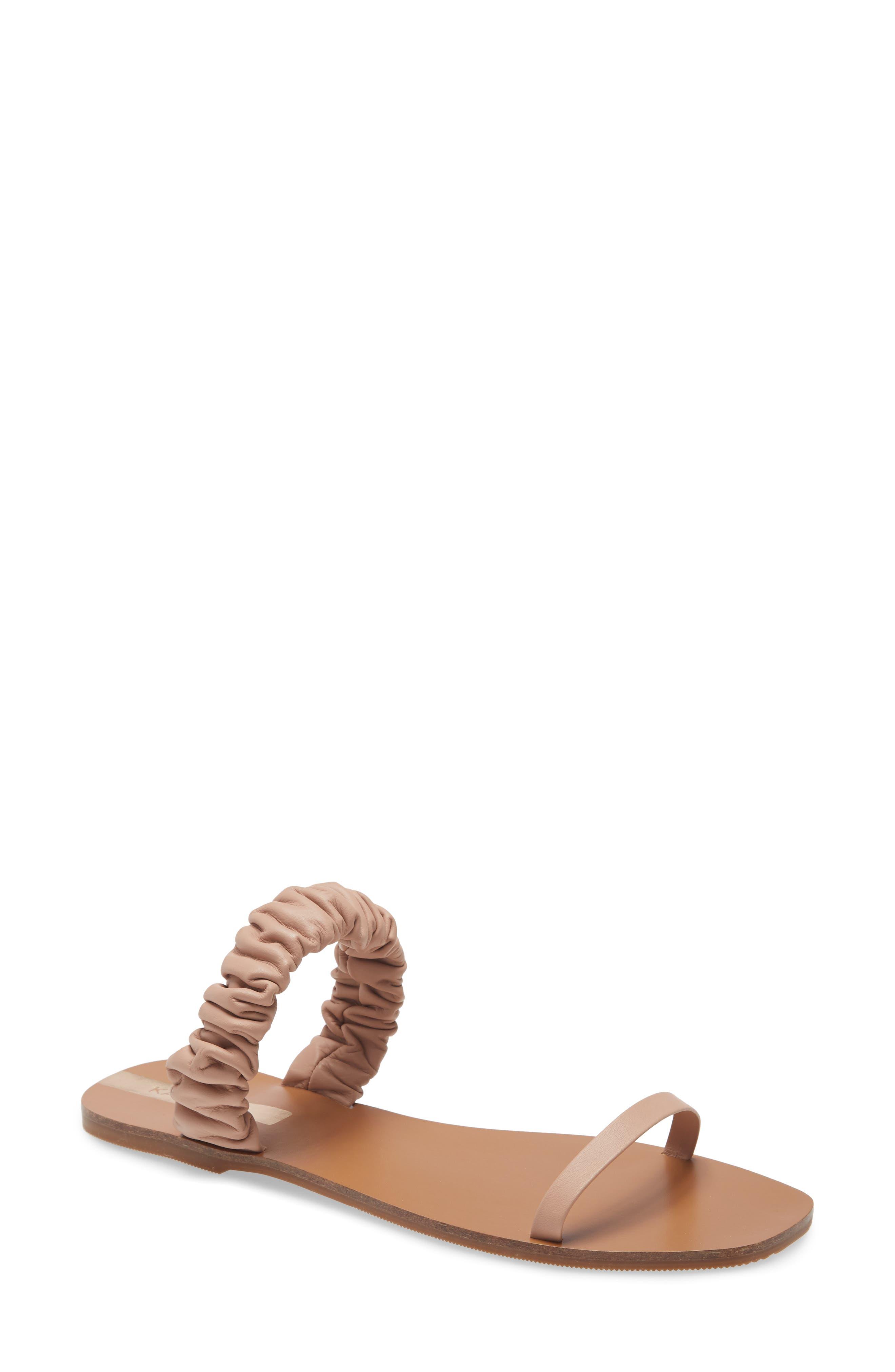 Lara Scrunchy Slide Sandal