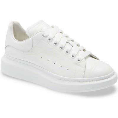 Alexander Mcqueen Glow In The Dark Sneaker, White