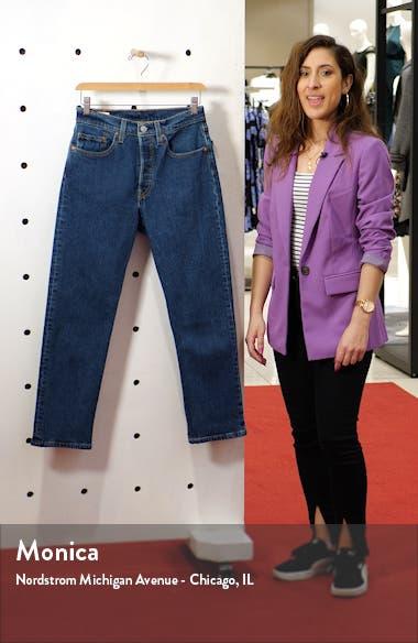 501 High Waist Crop Straight Leg Jeans, sales video thumbnail