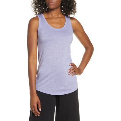 Icebreaker Cool-Lite(TM) Sphere Merino Wool Blend Tank, Purple