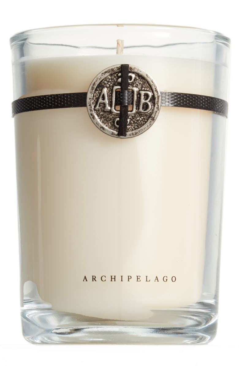 ARCHIPELAGO BOTANICALS Signature Soy Wax Candle, Main, color, COCONUT WATER