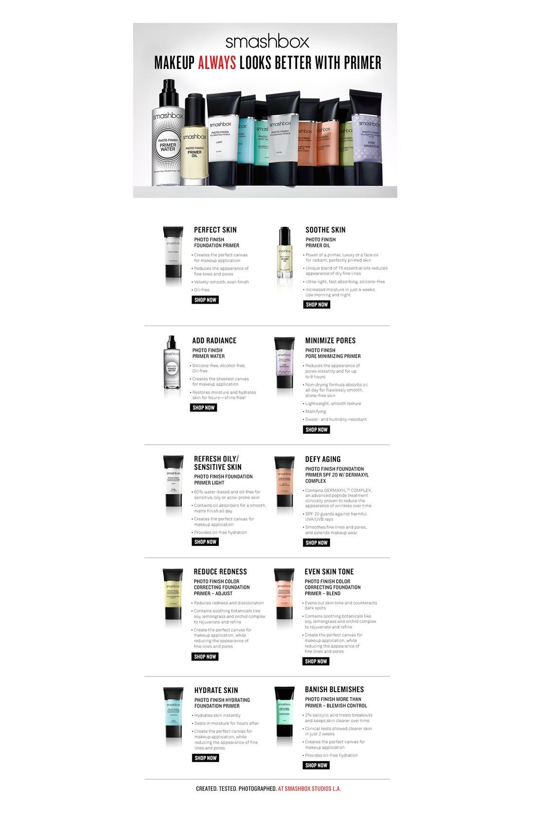 ,                             Photo Finish Hydrating Foundation Primer,                             Alternate thumbnail 4, color,                             000