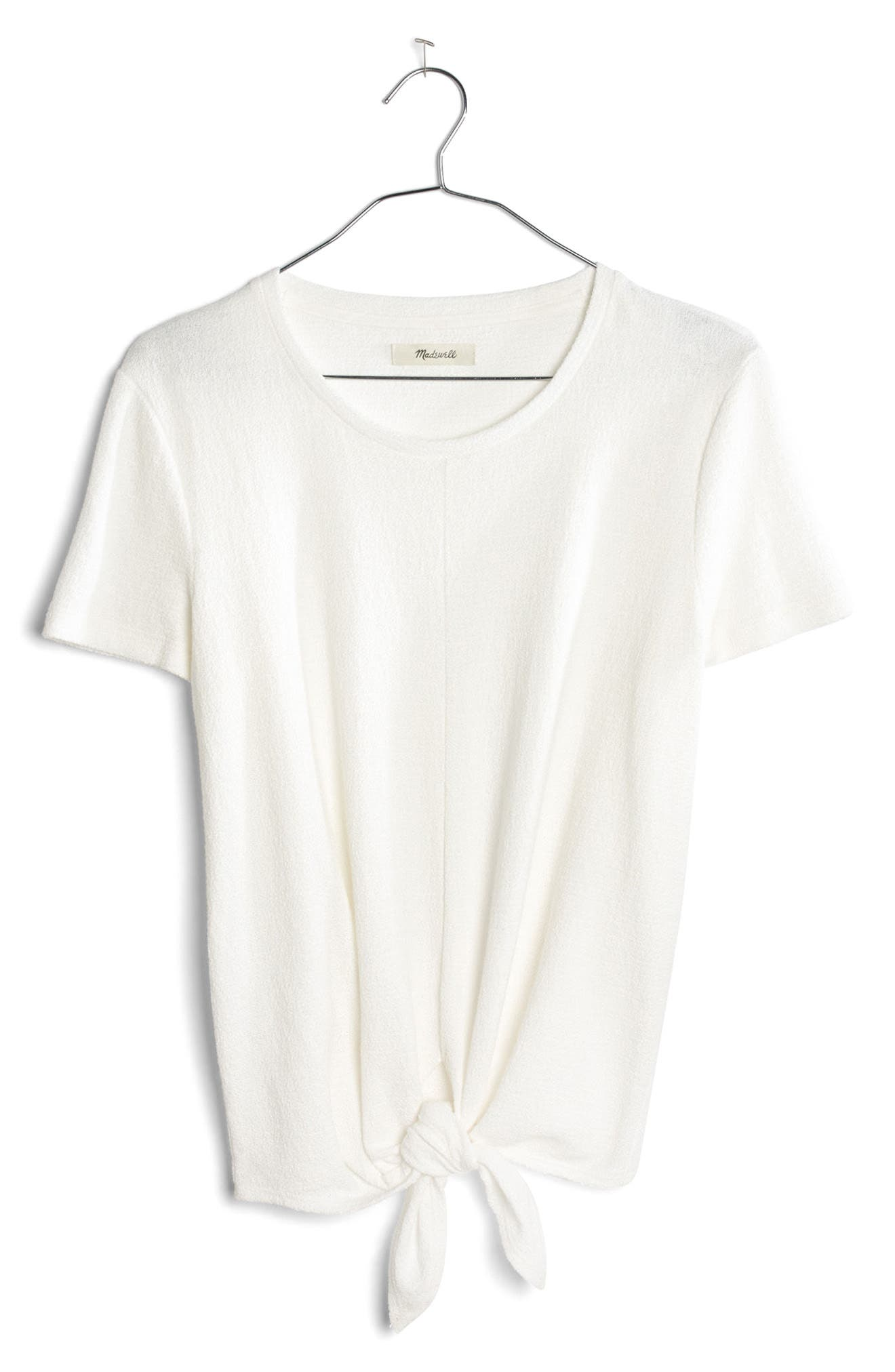 ,                             Modern Tie Front Tee,                             Alternate thumbnail 35, color,                             900