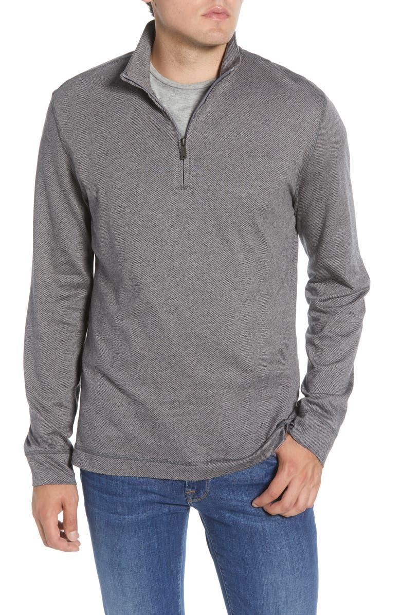 RODD & GUNN Anvil Island Regular Fit Pullover, Main, color, SMOKE