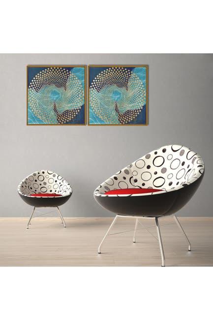 "Image of Chic Home Bedding Veneta 2-Piece Wall Art - 15.5""x31"""