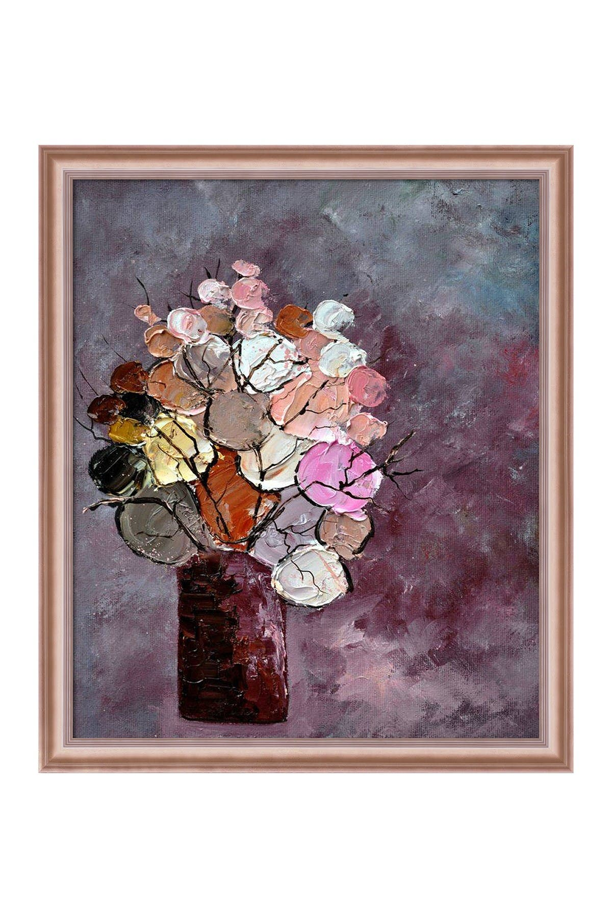 "Image of Overstock Art Still Life (452120) with Rose Gold Classico Frame - 23"" x 27"""