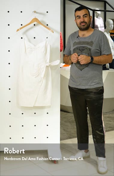 Pinstripe Cotton & Linen Dress, sales video thumbnail