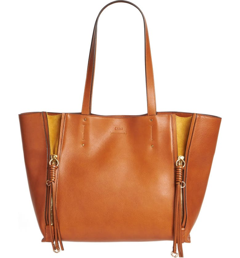 5d0a2dc37 Medium Milo Calfskin Leather Tote, Main, color, 233