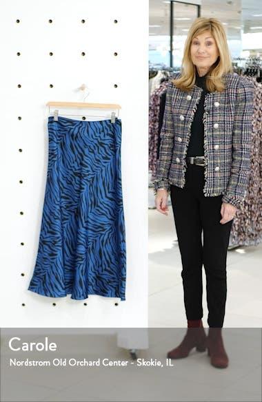 Davis Leopard Print Midi Skirt, sales video thumbnail