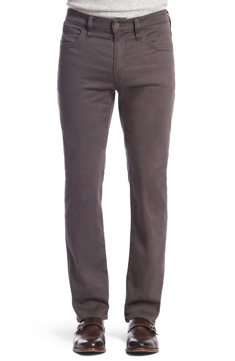 34 HERITAGE Charisma Relaxed Fit Pants, Main, color, ANTHRACITE TWILL