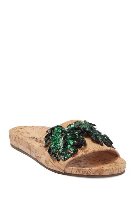 Image of Schutz Thayna Sequin Palm Slides