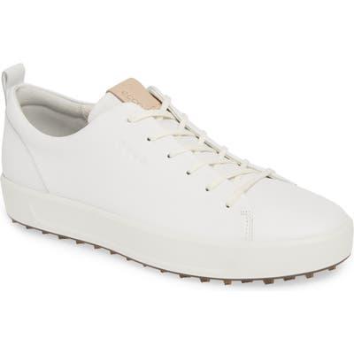 Ecco Hydromax Golf Shoe, White