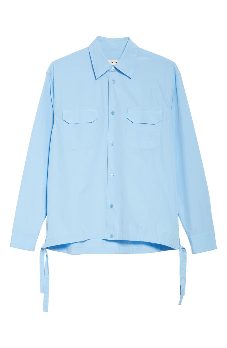 MARNI Workwear Shirt, Main, color, LIGHT BLUE