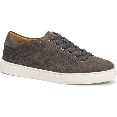 Trask Lindsey Metallic Low Top Sneaker, Grey