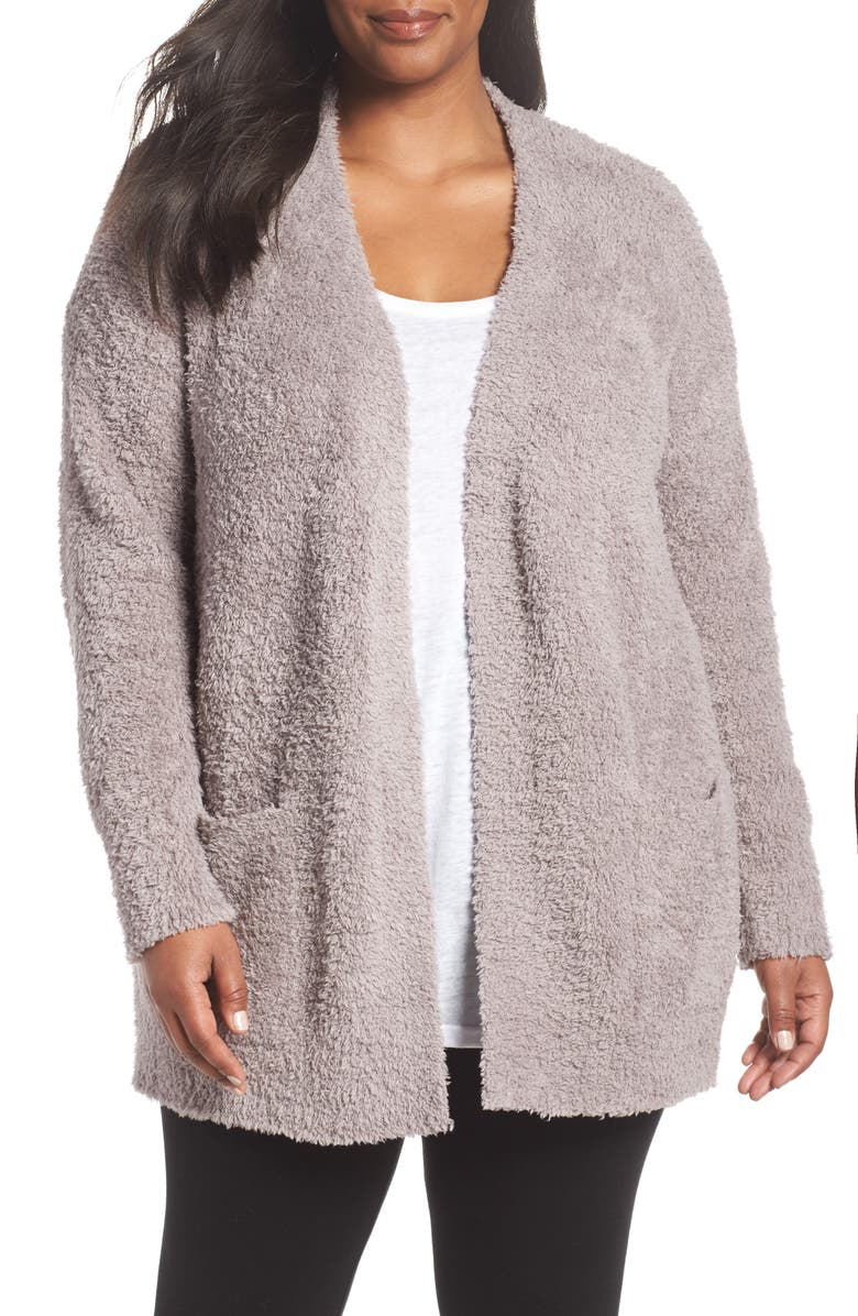 BAREFOOT DREAMS<SUP>®</SUP> CozyChic<sup>®</sup> Cardigan, Main, color, BEACH ROCK