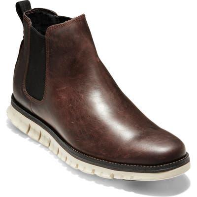 Cole Haan Zer?grand Waterproof Chelsea Boot- Brown