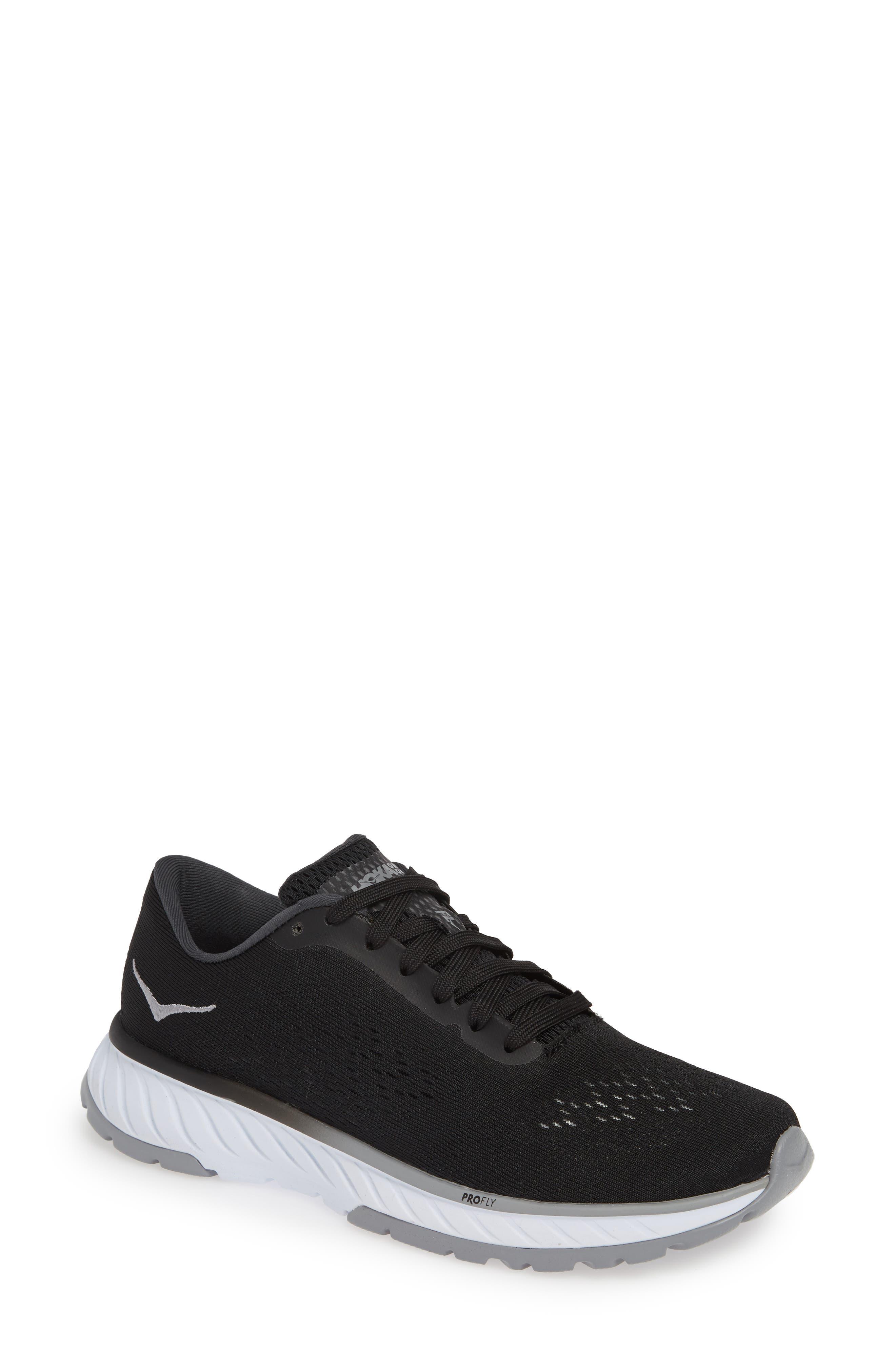 Hoka One One Cavu 2 Running Shoe- Black