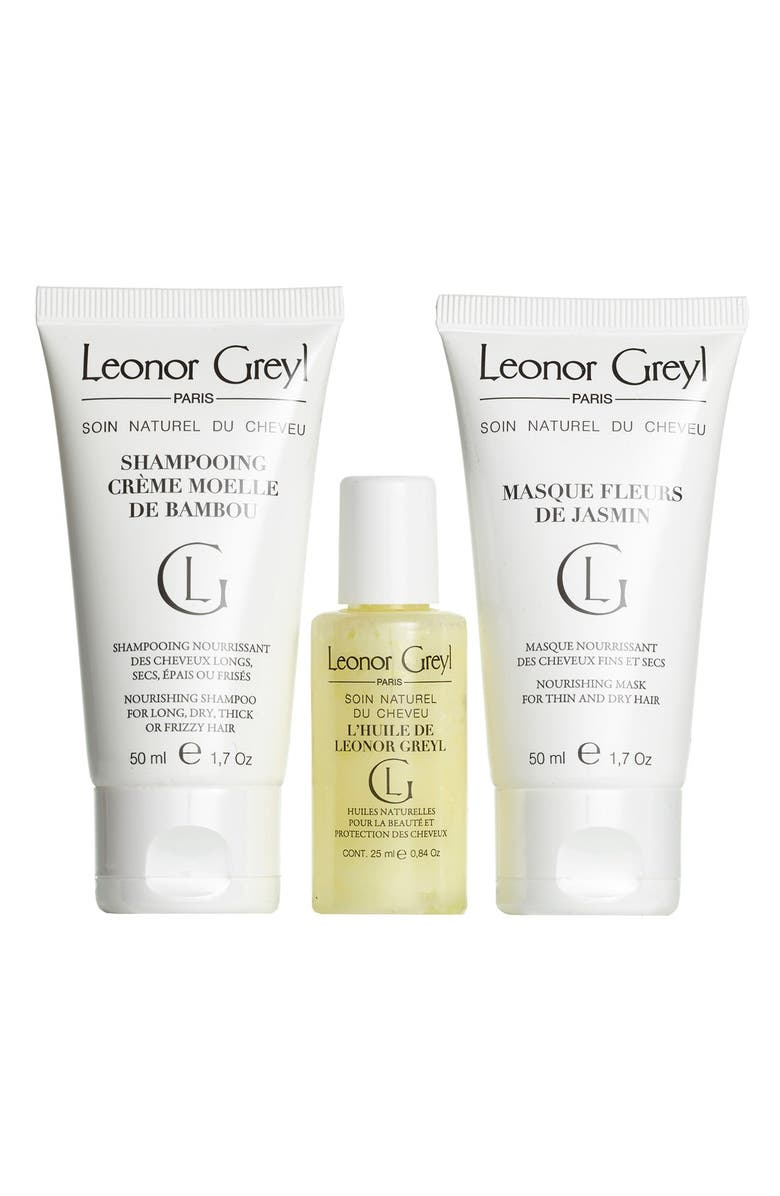 LEONOR GREYL PARIS Luxury Travel Kit for Dry Hair, Main, color, NO COLOR