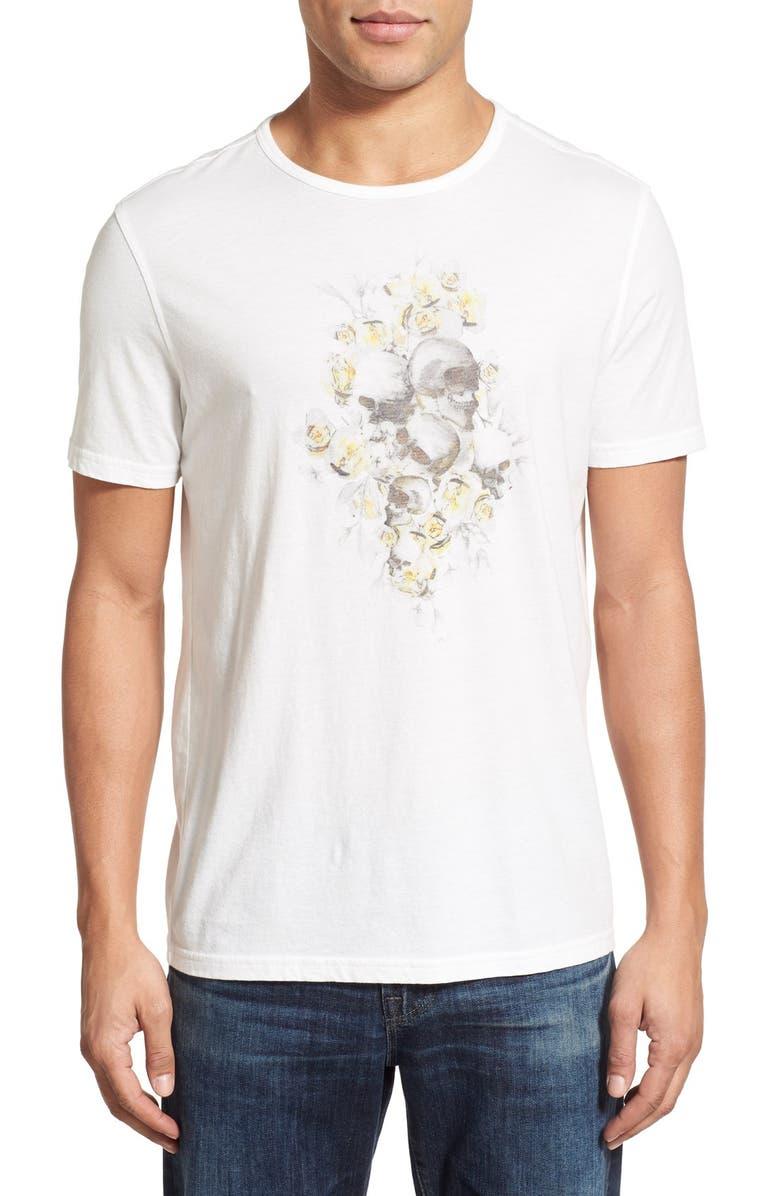 6deb17be6 John Varvatos Star USA 'Floral Skull' Graphic T-Shirt | Nordstrom