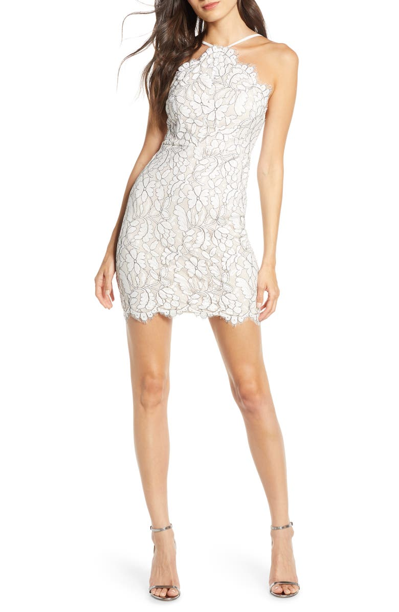 Delicate Darling Lace Minidress