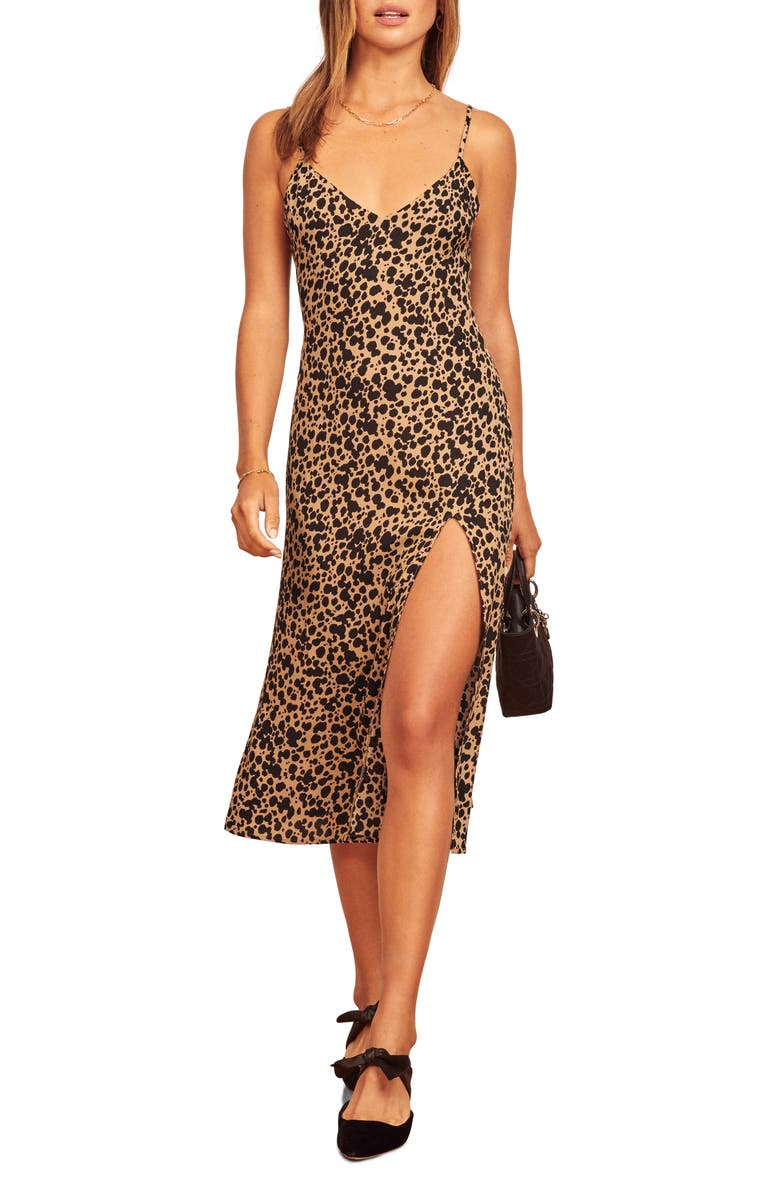 REFORMATION Crimini Slipdress, Main, color, BLITZ