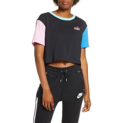 Nike Sportswear Colorblock Crop Tee