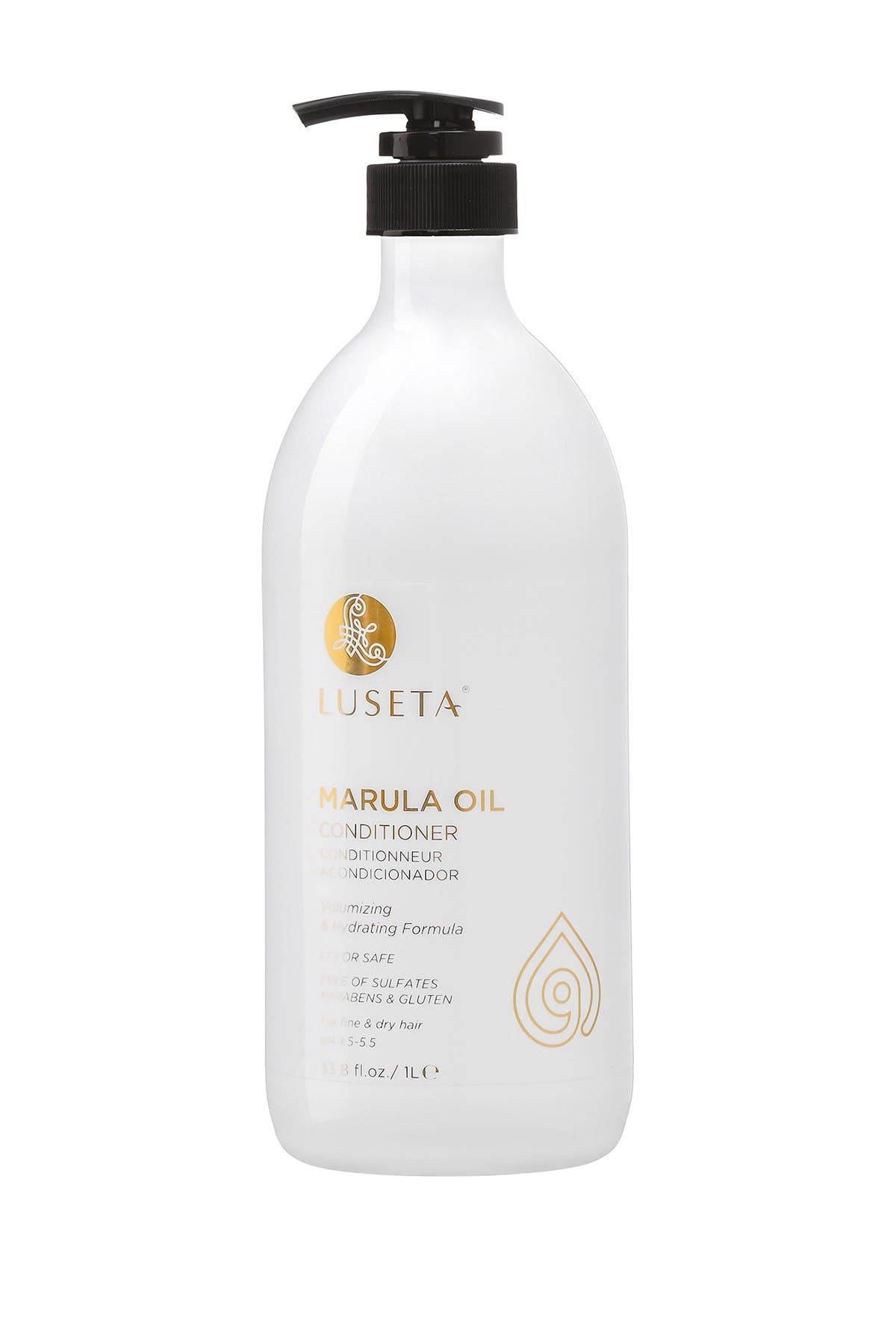 Image of Luseta Beauty Marula Oil Conditioner for Fine and Dry Hair - 33.8 oz.