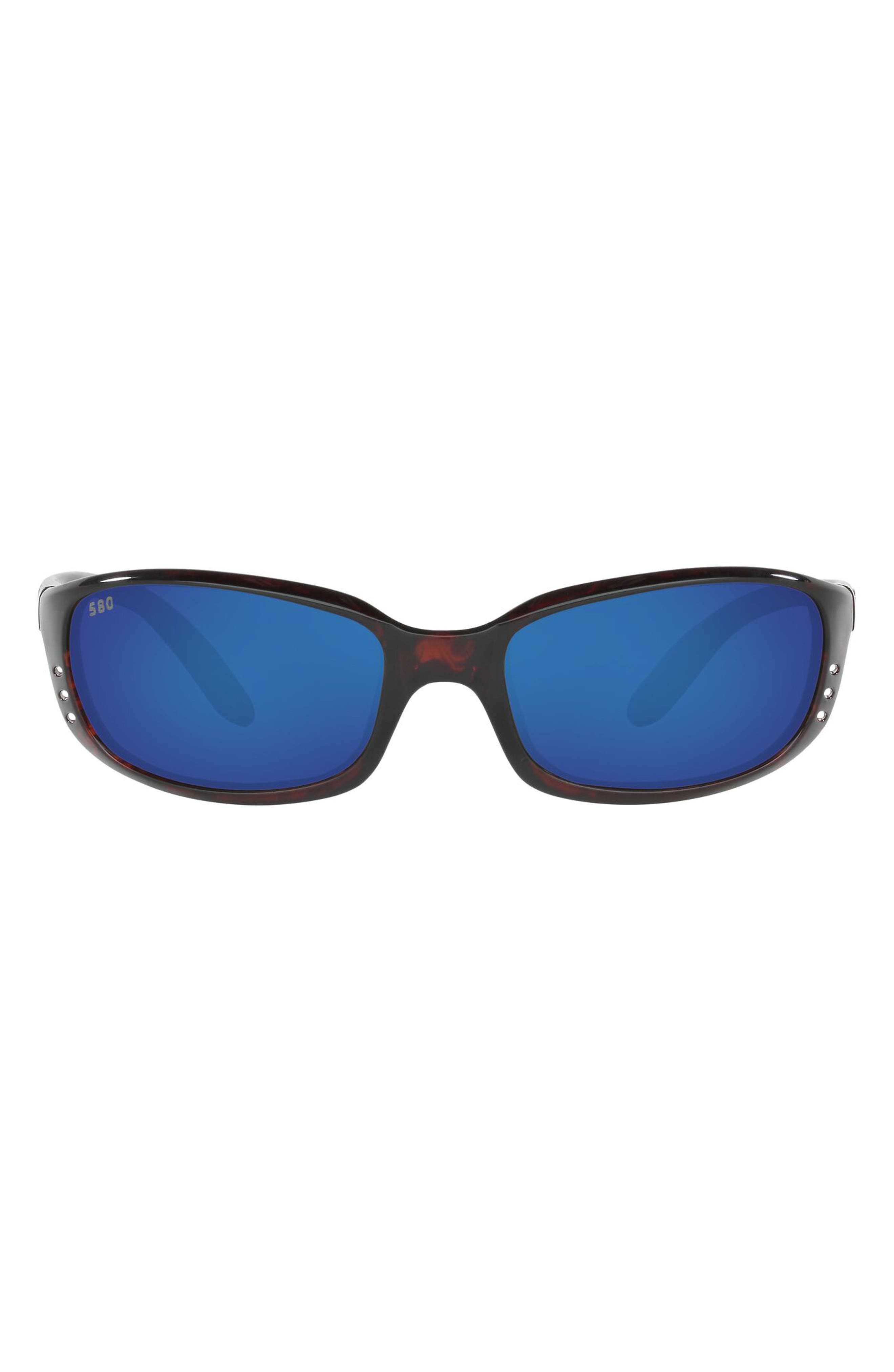 59mm Polarized Wraparound Sunglasses