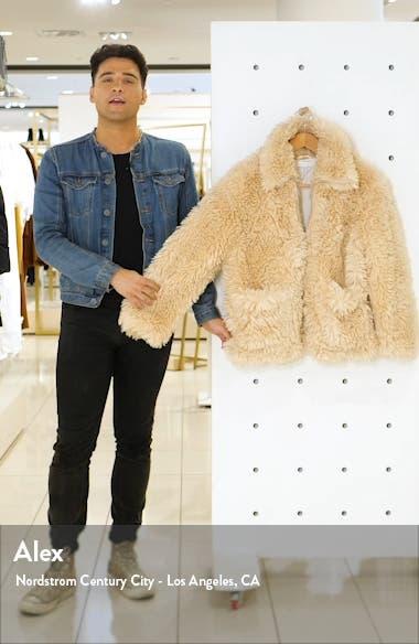 Jonas Faux Shearling Jacket, sales video thumbnail