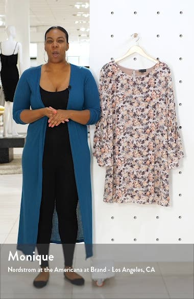Jude Flare Sleeve Shift Dress, sales video thumbnail