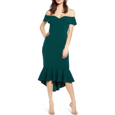 Love, Nickie Lew Sweetheart Midi Dress