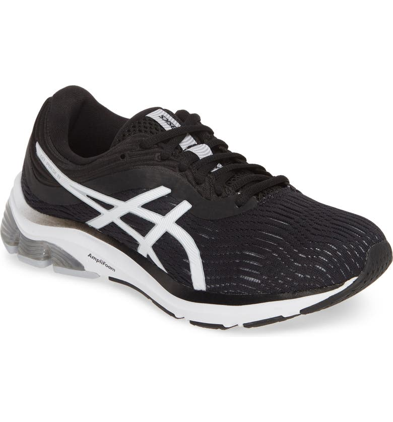 ASICS<SUP>®</SUP> GEL-Pulse<sup>™</sup> 11 Running Shoe, Main, color, BLACK/ PIEDMONT GREY