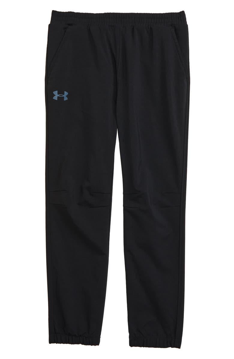 UNDER ARMOUR Slim Fit Jogger Pants, Main, color, BLACK