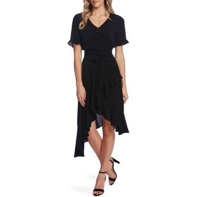 Cece Ruffle Belted High/low Dress