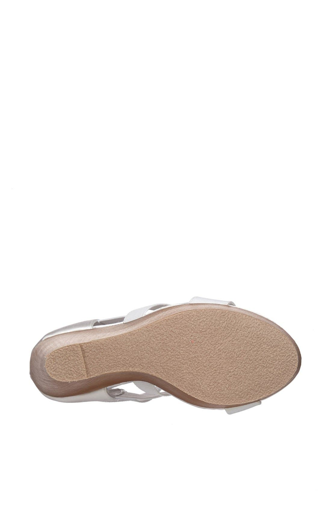 ,                             'Val' Wedge Sandal,                             Alternate thumbnail 9, color,                             100