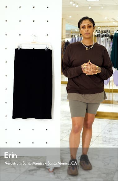 Rib Pencil Skirt, sales video thumbnail