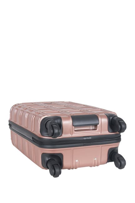 """Image of Ben Sherman 20"""" Nottingham Embossed ABS 4 Wheel Carry-On Luggage"""