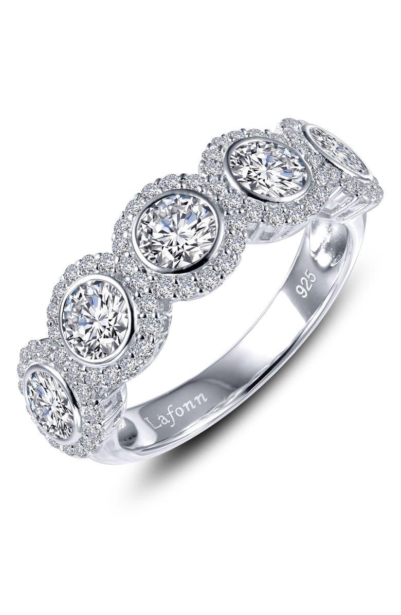 LAFONN Simulated Diamond Ring, Main, color, 100