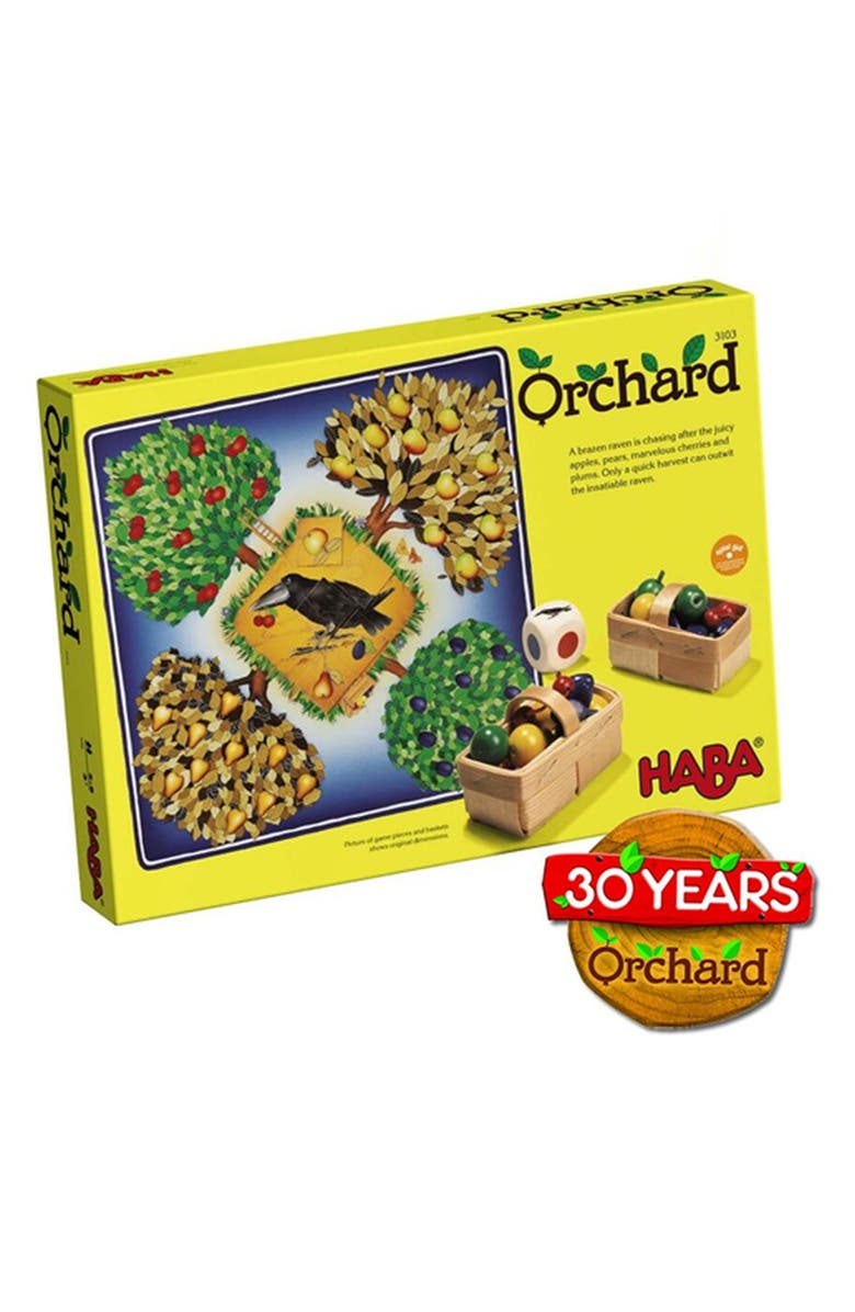 HABA Orchard Game, Main, color, BLUE AND YELLOW