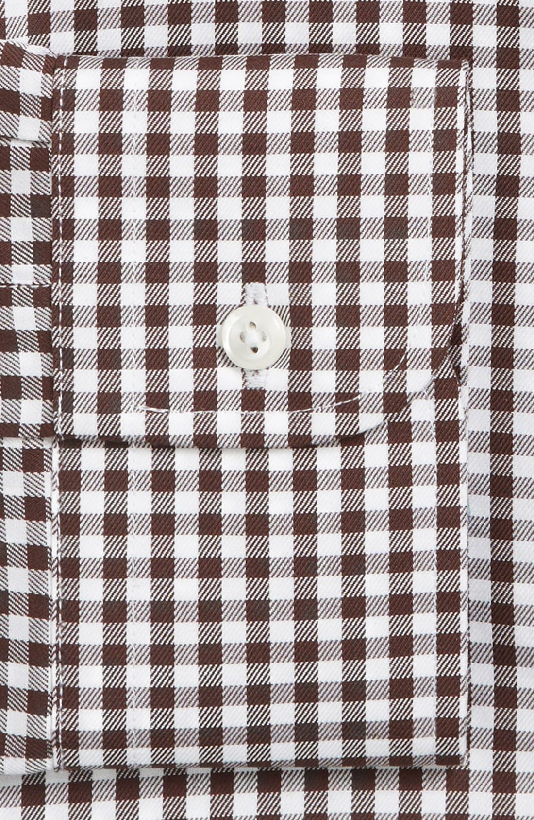 ,                             Traditional Fit Non-Iron Gingham Dress Shirt,                             Alternate thumbnail 40, color,                             210