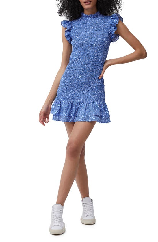 French Connection Mini dresses ELAO VERONA CREPE SMOCKED MINIDRESS